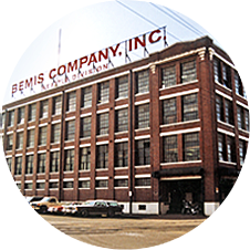 the historic Bemis Building today
